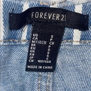 Forever 21 Shorts - Forever 21 striped shorts
